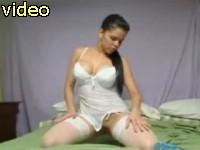 hot amateur woman on webcam