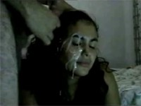incredible facial cumshot
