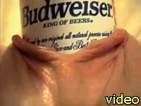 beer in pussy